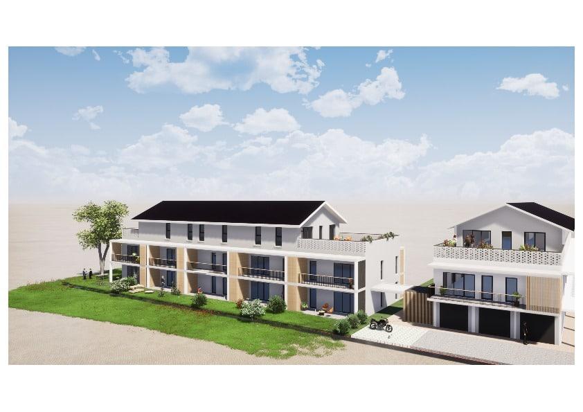Appartement neuf à vendre - Pau 2 pièces 47.30 m² 126 000€