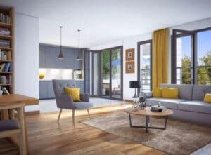 Appartement neuf avec terrasse à vendre - Pau 2 pièces 46.10 m² 126 000€