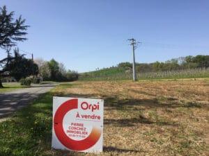 Terrain à vendre - Monein 1100 m² - 87 200€