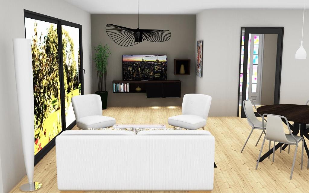 Pau centre ville - Appartement neuf 3 pièces 99 m² 450 000€ - Agence immobilière pau - Pierre Conchez Immobilier